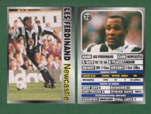 Newcastle United Les Ferdinand England 72
